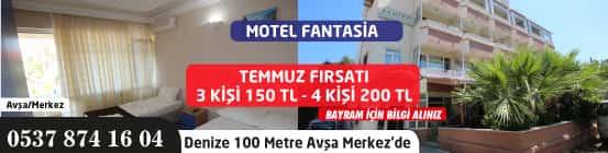 Avşa Motel Fantasia