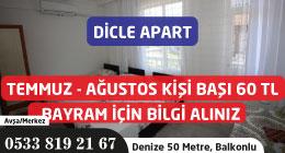 Dicle Apart