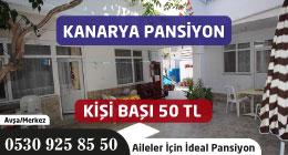 KANARYA PANSİYON - AVŞA ADASI