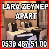AVSA LARA ZEYNEP APART