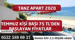 Avşa Tanz Apart 2020