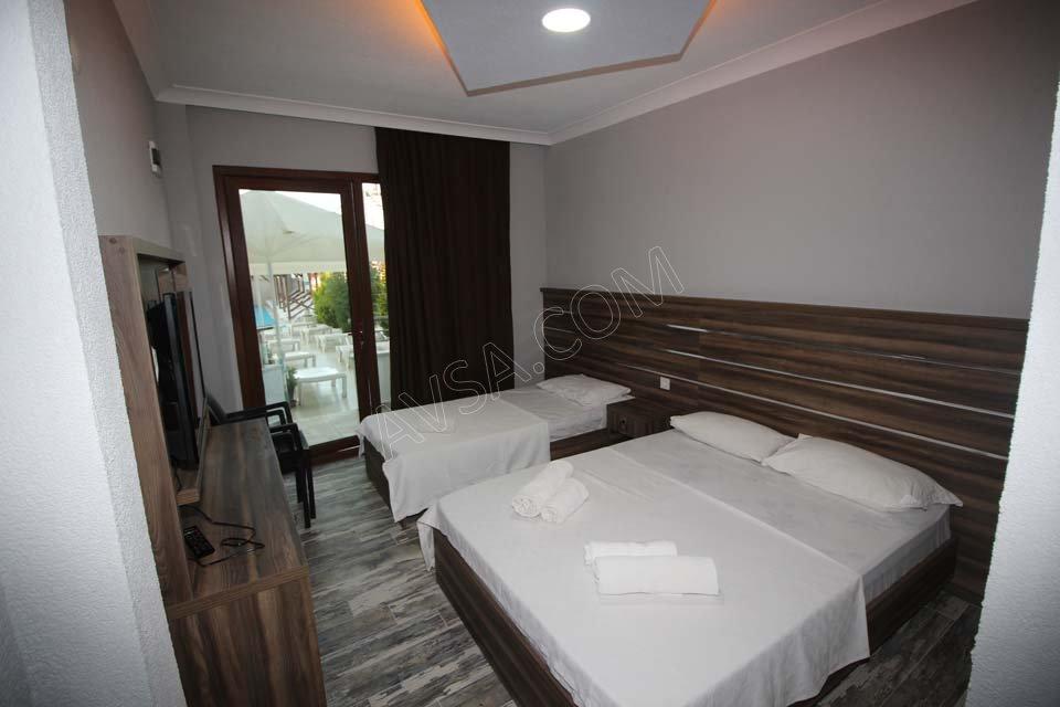 Avşa Bahar Aqua Resort Otel 3 Kişilik Oda