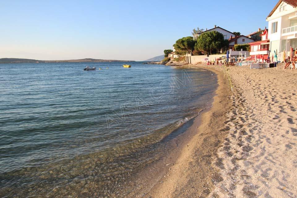 Avşa Adası Güneş Villaları Plaj