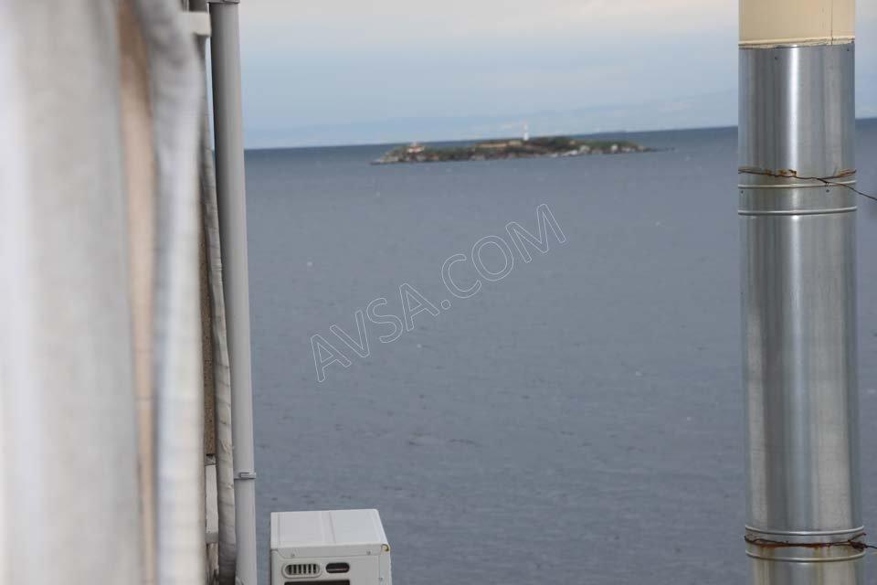 Avşa Ayışığı Apart Teras Suit Oda Deniz Yandan Gören Manzara