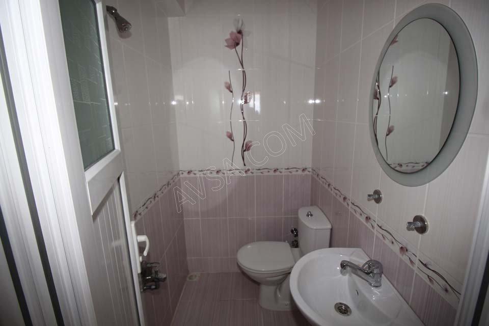 Avşa Ayışığı Apart Standart Oda Banyo