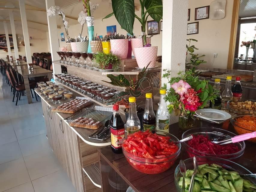 Avşa Bahar Aqua Resort Otel Yemek