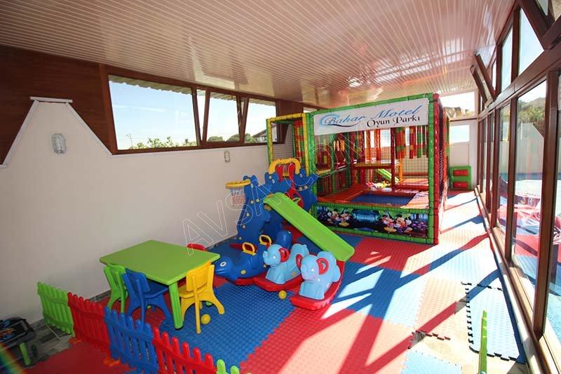 Avşa Bahar Motel Aqua Park Havuz 18