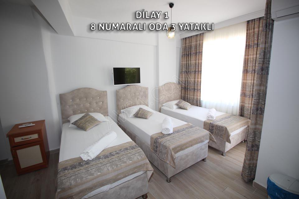 Avşa Adası Dilay Apart 8 Numaralı Oda 3 Tek Yataklı