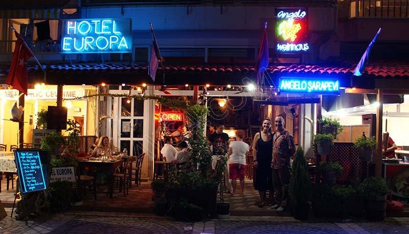 Avşa Hotel Europa Otel REstaurant