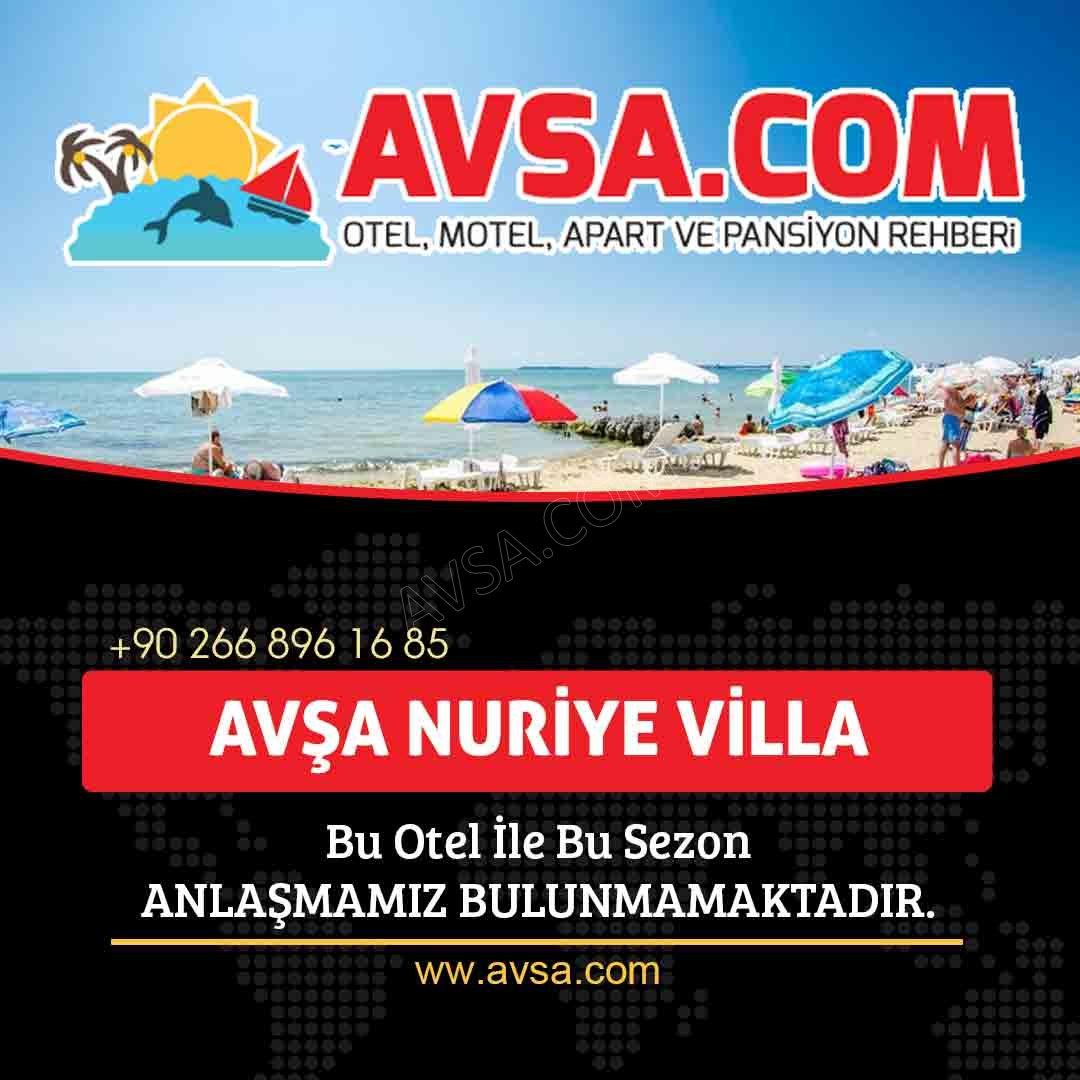 Avşa Nuriye Villa