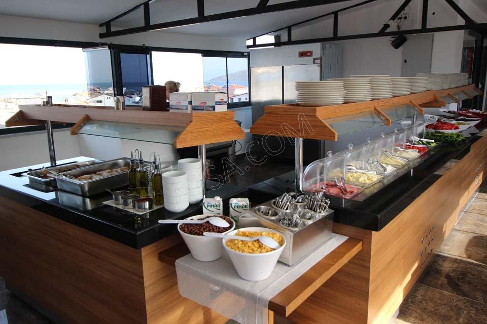 Avşa Özkaptan Aqua Otel Kahvaltı 07