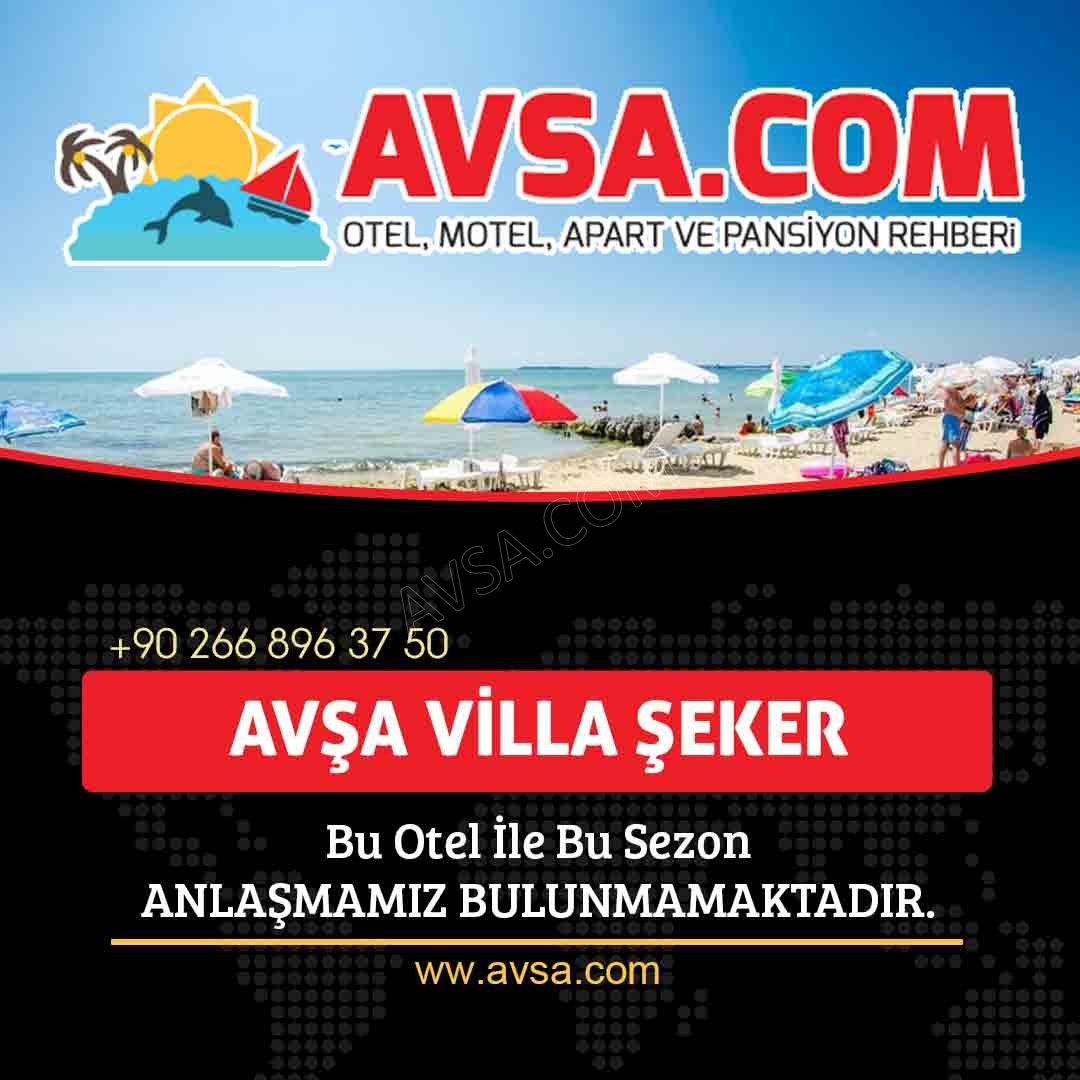 Avşa Villa Şeker