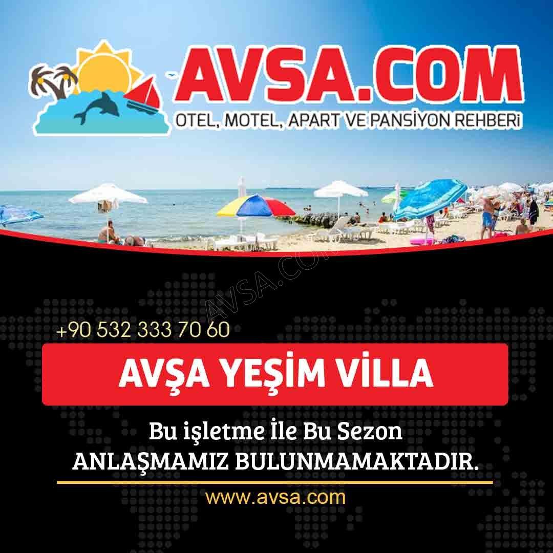 Avşa Yeşim Villa