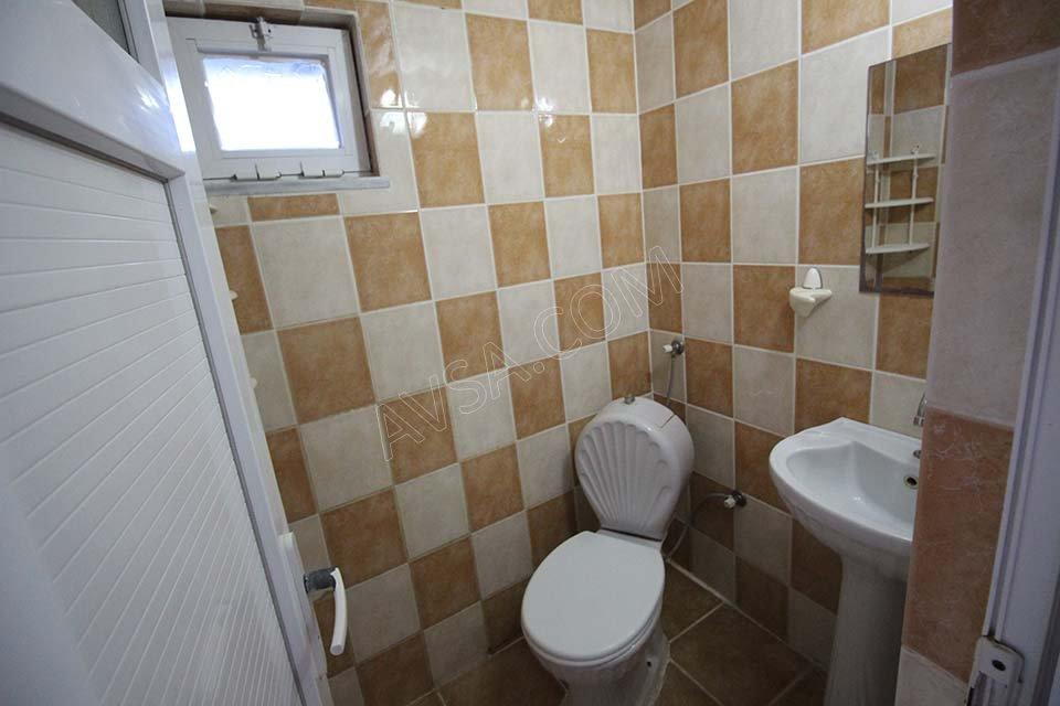 Avşa Ömer Deniz Apart Motel Banyo