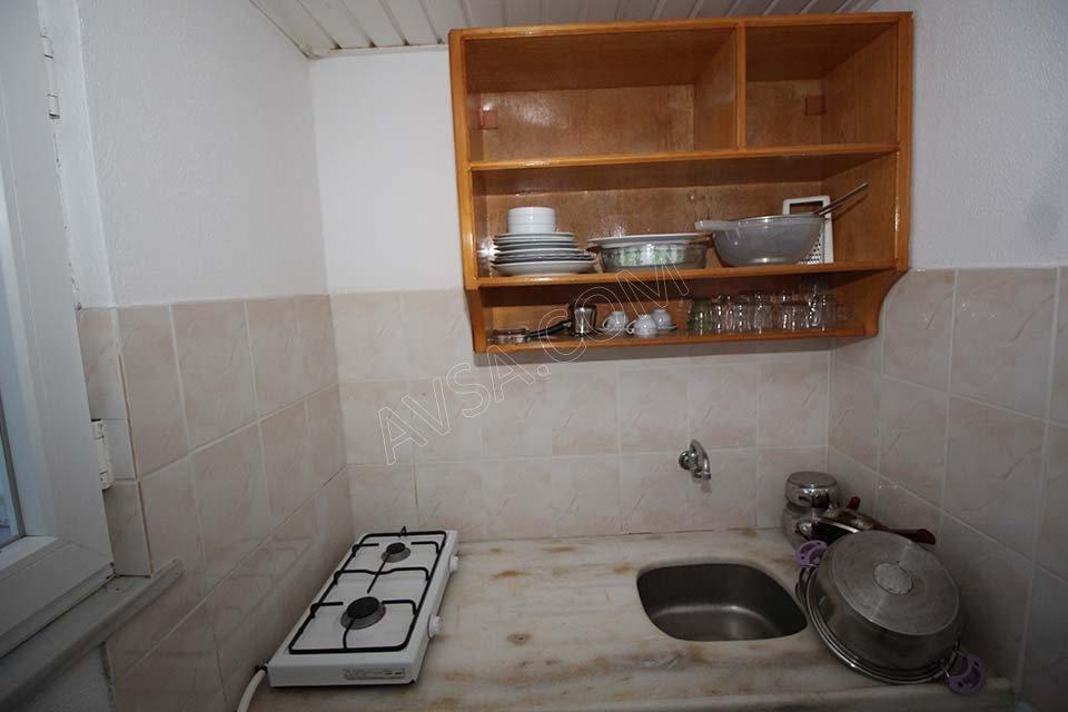 Avşa Ömer Deniz Apart Motel Mutfak